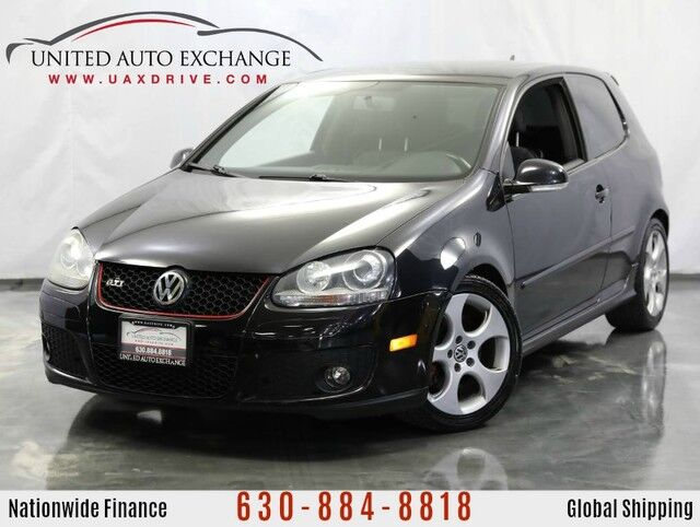 2009 Volkswagen GTI 2.0L Trubocharged Engine ** MANUAL TRANS ** Coupe Hatchback w/ HDI Xenon Headlights, Air Conditioning w/Pollen Filter, Remote Hatch & Fuel Door Release, Power Windows Addison IL