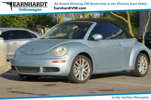 2009 Volkswagen New Beetle Convertible S Gilbert AZ