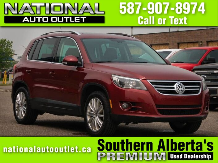 2009 Volkswagen Tiguan Trendline - PANORAMIC ROOF - HEATED LEATHER SEATS Lethbridge AB