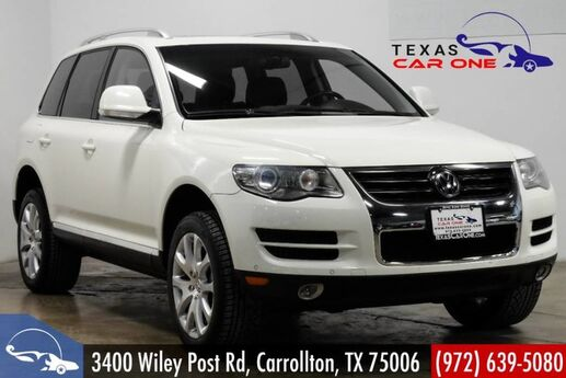 2009 Volkswagen Touareg TDI 4MOTION V6 NAVIGATION SUNROOF LEATHER HEATED SEATS PARK DISTANCE CONTROL Carrollton TX