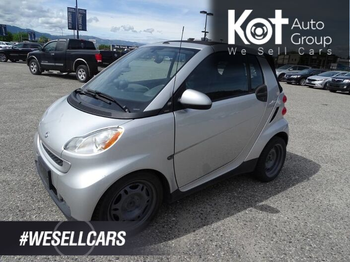 2009 smart fortwo Passion, Convertible, Heated Seats, Low KM's Kelowna BC