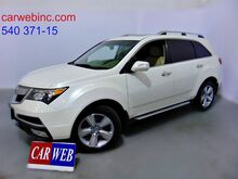 2010_Acura_MDX_Tech Package and Entertainment Package_ Fredricksburg VA