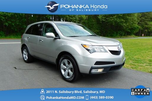 2010_Acura_MDX_Technology AWD ** NAVI & SUNROOF ** ONE OWNER **_ Salisbury MD