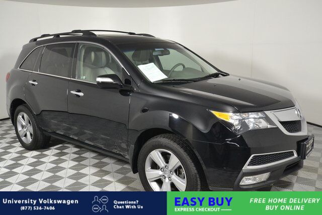 2010 Acura MDX Technology Seattle WA