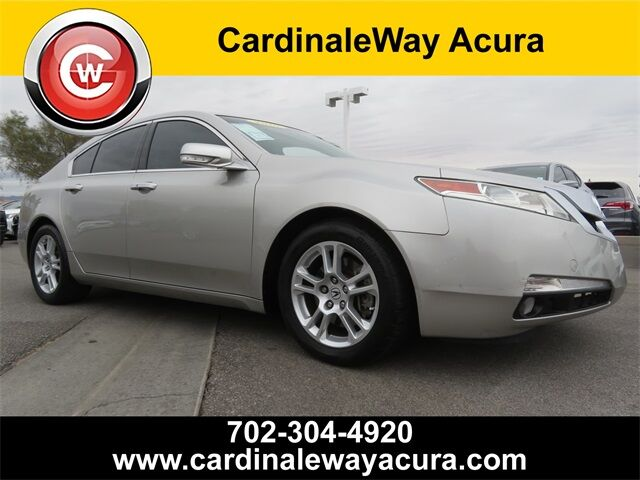 2010 Acura TL with Technology Package and 18-inch wheels Las Vegas NV