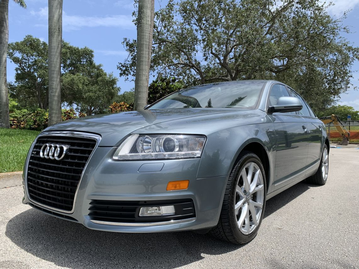 2010 Audi A6 3.0T Quattro Sedan 4D Hollywood FL