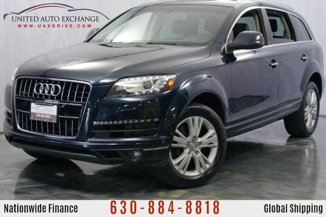 2010 Audi Q7 3.0L V6 DIESEL Engine AWD **3rd Row Seats** TDI Premium Plus w/ Navigation, Bluetooth Connectivity, Sunroof, Bose Premium Sound System, Front and Rear Parking Aid with Rear View Camera Addison IL