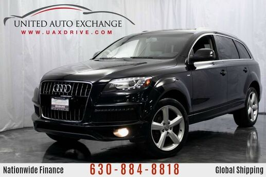 2010 Audi Q7 3.0L V6 Diesel Engine TDI S Line Premium Plus w/ 3rd Row Seats, Panoramic Sunroof, Navigation, Bluetooth Connectivity, Heated Leather Seats, Front and Rear Parking Aid with Rear View Camera Addison IL