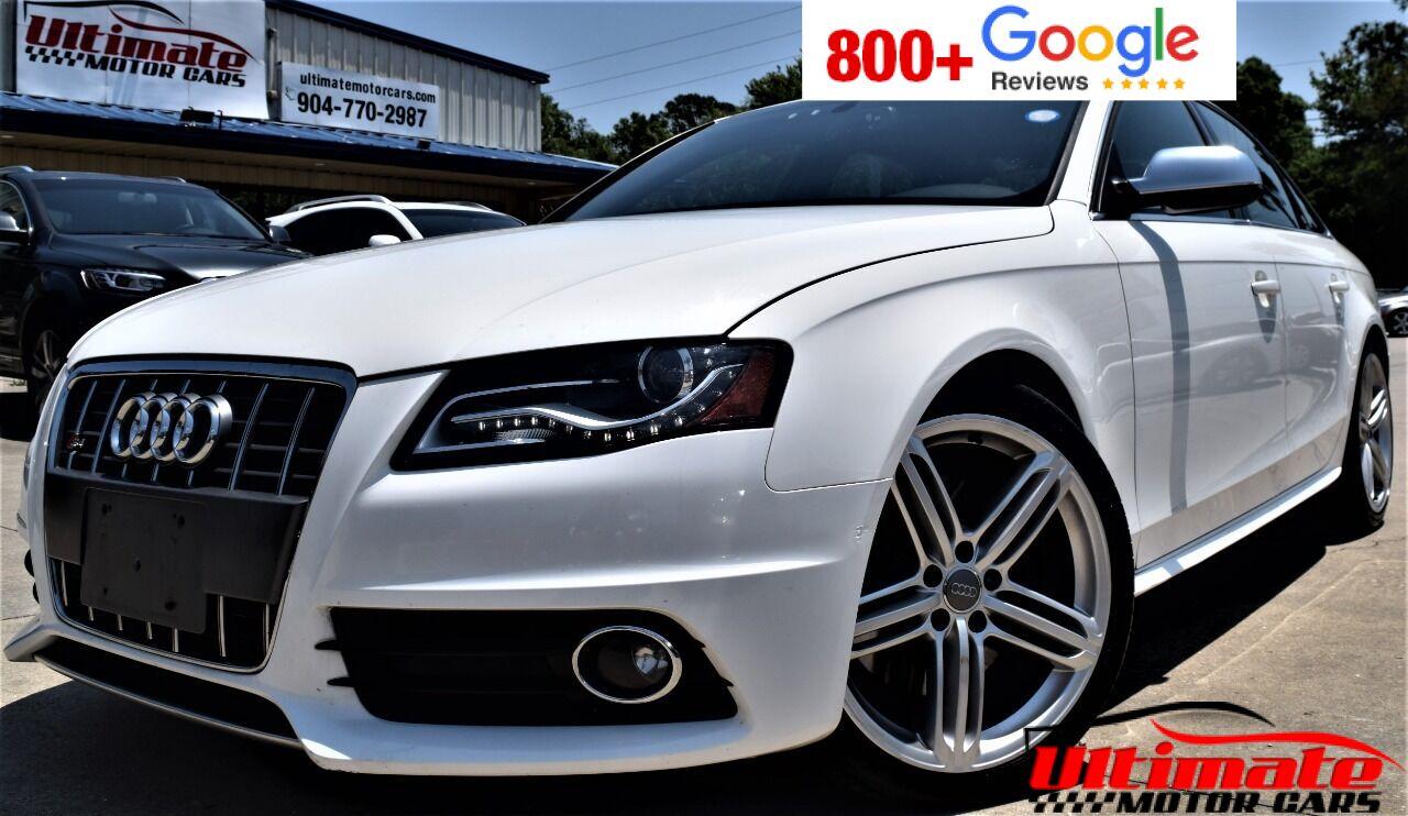 2010 Audi S4 3.0T quattro Prestige AWD 4dr Sedan 7A Saint Augustine FL