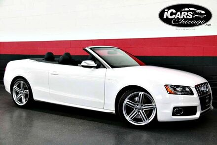 2010_Audi_S5_Premium Plus 2dr Convertible_ Chicago IL