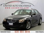 2010 BMW 5 Series 528i 3.0L V6 Engine RWD w/ Sunroof, Power Seats, Bluetooth Hands-free Wireless Technology, Engine start/stop button