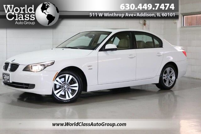 2010 BMW 5 Series 528i xDrive - NAVIGATION LEATHER INTERIOR HEATED SEATS Chicago IL