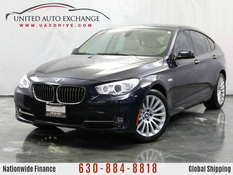 2010 BMW 5 Series Gran Turismo 3.0L V6 Twin Turbo Engine RWD 535i w/ Panoramic Sunroof, Front and Rear Parking Aid with Rear View Camera, Navigation, Bluetooth Connectivity, USB & AUX Input Addison IL