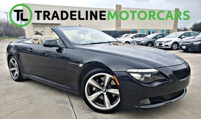 2010 BMW 6 Series 650i CONVERTIBLE, BLUETOOTH, PARKING ASSIST, AND MUCH MORE!!! CARROLLTON TX