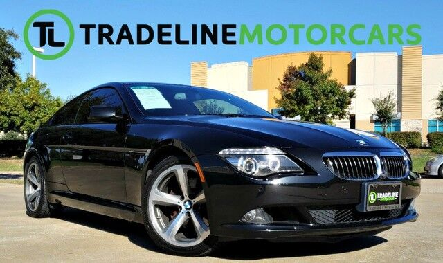 2010 BMW 6 Series 650i NAVIGATION, REAR VIEW, BLUETOOTH, AND MUCH MORE!!! CARROLLTON TX