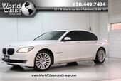 2010 BMW 7 Series 750Li xDrive - AWD SUN ROOF NAVIGATION WOOD GRAIN INTERIOR BACK UP CAMERA HEATED POWER LEATHER SEATS POWER TRUNK REAR MIRRORS REAR HEATED SEATS & CLIMATE CONTROL REAR POWER SHADES TINTED WINDOWS PUSH BUTTON START PARKING ASSIST