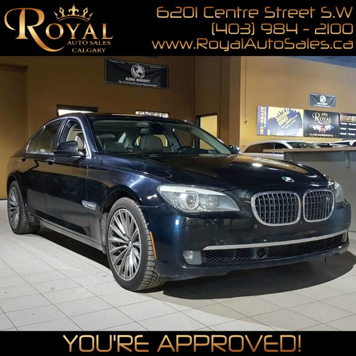 2010 BMW 7 Series 750i xDrive Calgary AB