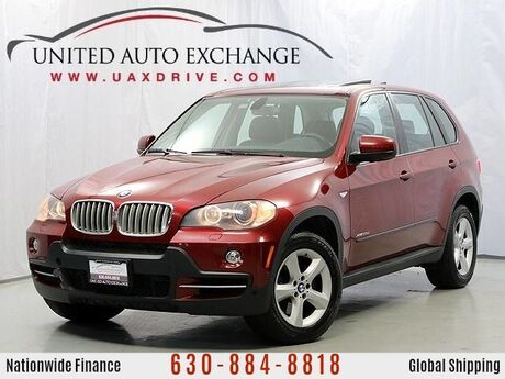 2010 BMW X5 35d Diesel AWD **Stage 2 N57 Upgrade** w/ Navigation/ Front & Rear Parking Aid with Rear View Camera, Bluetooth, Sunroof, Power & Heated Seats Addison IL