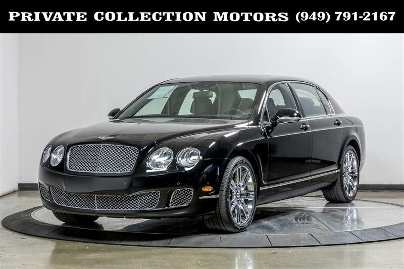 2010 Bentley Continental Flying Spur Only 16k Miles Clean Carfax Costa Mesa CA