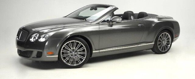 2010 Bentley Continental GT W12 Speed Convertible
