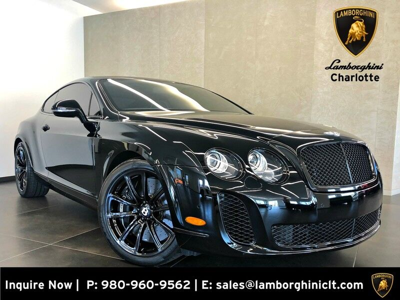 2010 Bentley Continental Supersports Supersports Charlotte NC