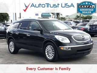 Buick Enclave CXL 1XL CLEAN CARFAX 3RD ROW LEATHER SUNROOF BACKUP CA 2010