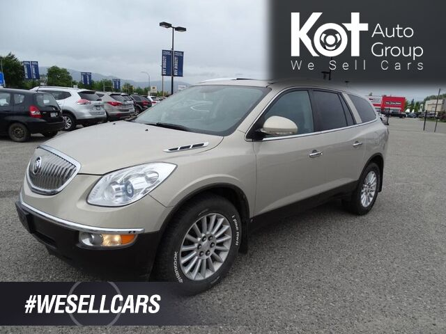 2010 Buick Enclave CXL1, Great Family SUV, Low KM's, 3 Row Seating, Heated Leather Seats Kelowna BC