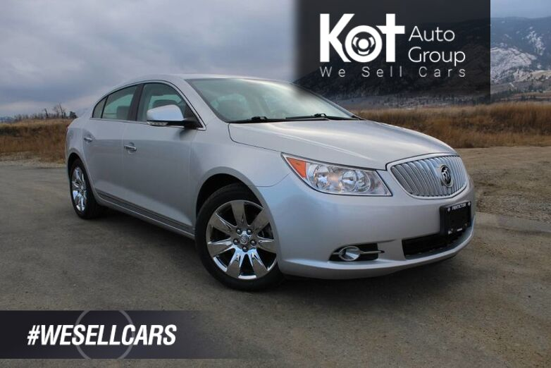 2010 Buick LaCrosse CXS, Heated and Cooled Seats Kelowna BC