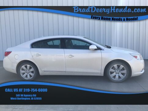 2010_Buick_LaCrosse_CXS_ West Burlington IA