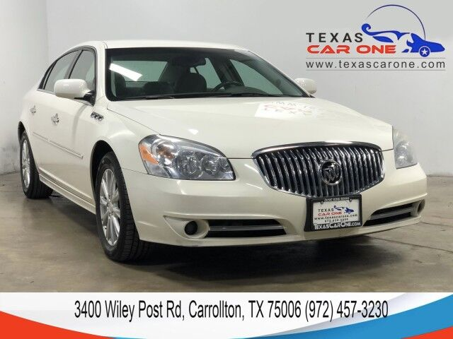 2010 Buick Lucerne CXL V6 AUTOMATIC LEATHER HEATED SEATS DUAL POWER SEATRS DUAL CLIMATE CONTROL Carrollton TX