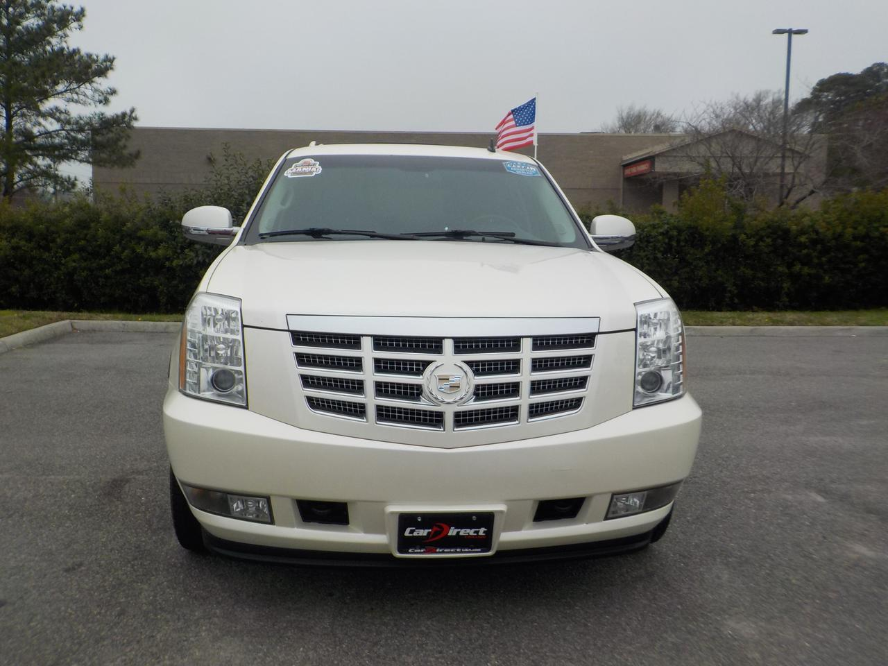 2010 CADILLAC ESCALADE AWD, LEATHER, 3RD ROW SEAT, BOSE SPEAKERS, DVD, NAVIGATION, TOW PKG, REMOTE START, LOW MILES! Virginia Beach VA