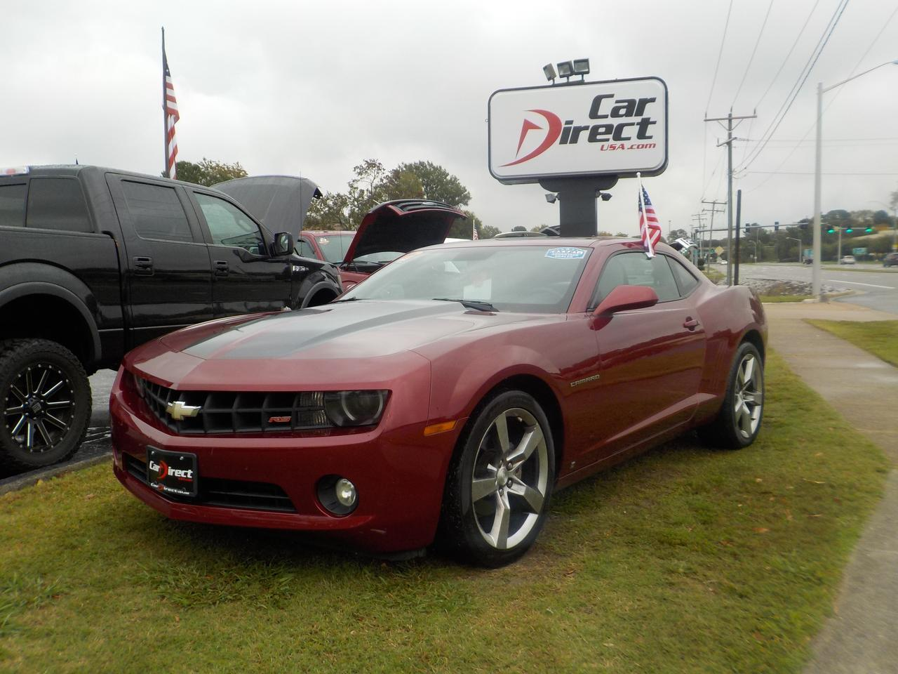 2010 CHEVROLET CAMARO LT2 COUPE, WARRANTY, LOW MILES, LEATHER, SUNROOF, GORGEOUS COLOR COMBO, ON SALE!!!