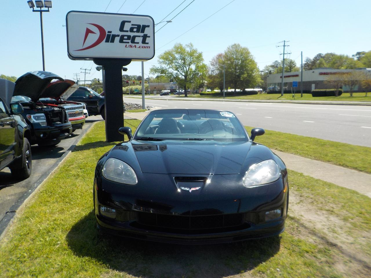 2010 CHEVROLET CORVETTE CONVERTIBLE Z16 GRAND SPORT 3LT, WARRANTY,  POWER TOP, ONSTAR, BLUETOOTH, BOSE SOUND SYSTEM! Virginia Beach VA