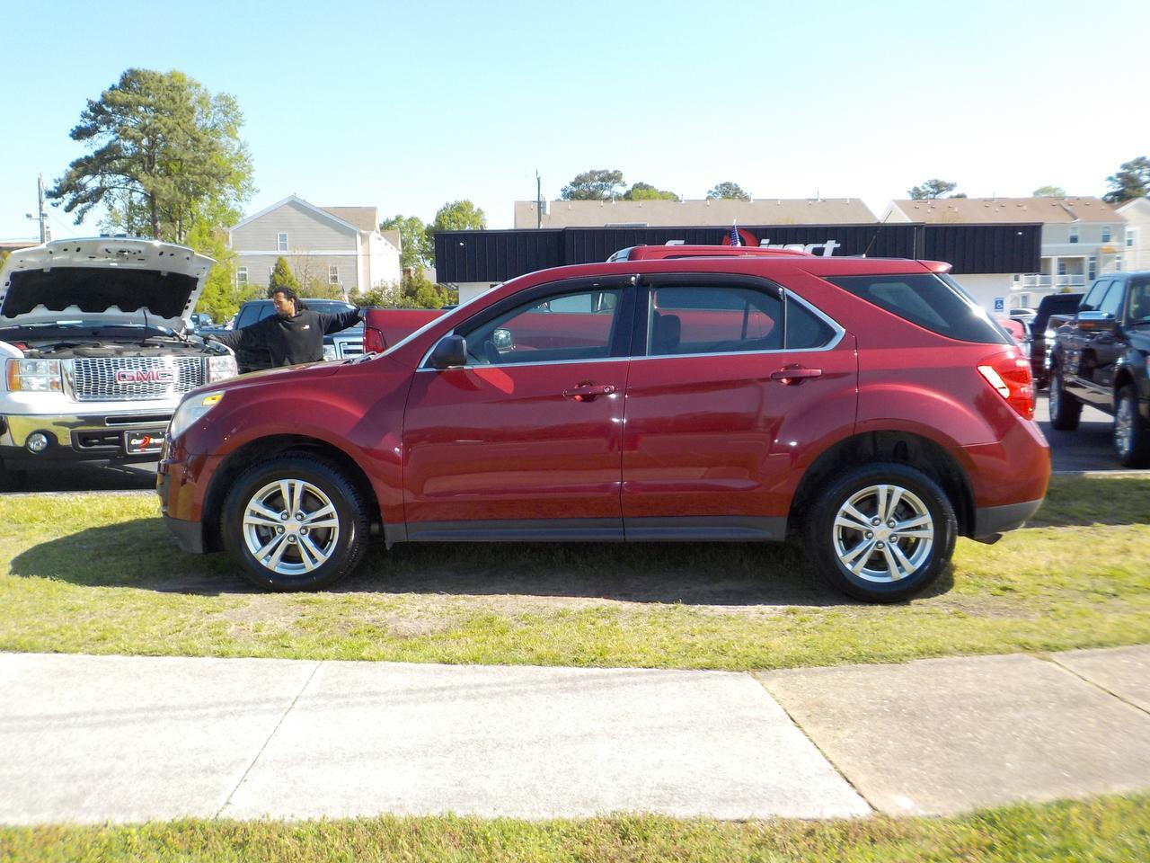2010 CHEVROLET EQUINOX LS, BLUETOOTH, KEYLESS ENTRY, REAR SPOILER ON LIFTGATE, CLIMATE CONTROL, AUTOMATIC HEADLIGHTS! Virginia Beach VA