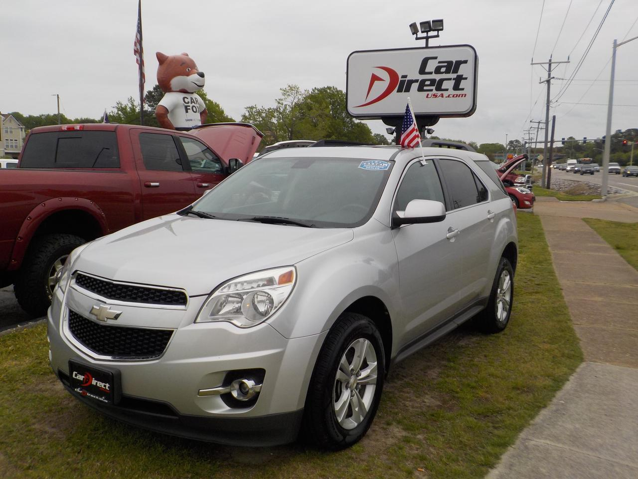 2010 CHEVROLET EQUINOX LT2 FWD, BACKUP CAMERA, BLUETOOTH, ONSTAR, REMOTE START, SUNROOF, ROOF RACKS, LEATHER, HEATED SEATS!