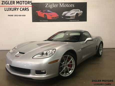 2010 Chevrolet Corvette Z06 w/3LZ 6-Speed Manual 19k miles One Owner *PRISTINE* Addison TX