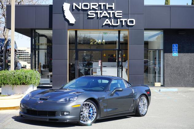 2010_Chevrolet_Corvette_ZR1 w/3ZR_ Walnut Creek CA