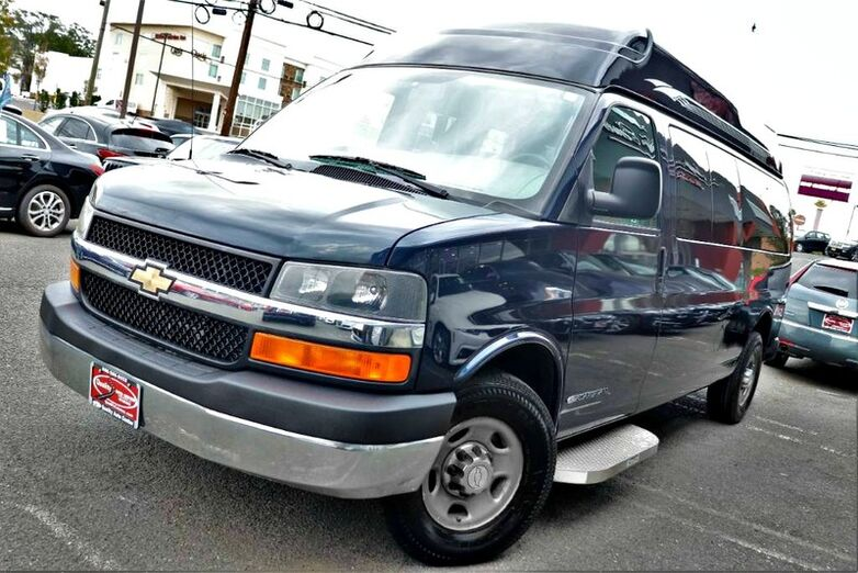 2010 Chevrolet Express - 3500 155 LT - Adapta-van - Lowered Floor HIGH ROOF - Wheelchair ADA - CARFAX Certified 1 Owner - No Accidents - Fully Serviced - QUALITY CERTIFIED up to 10 Yrs / 100,000 Miles Warranty - LT Springfield NJ
