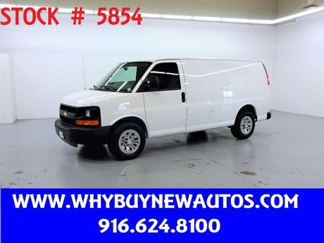 2010 Chevrolet Express 1500 ~ Only 8K Miles! Rocklin CA