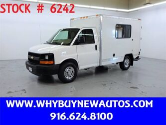 Chevrolet Express 3500 ~ 10ft. Box Van ~ Only 14K Miles! 2010