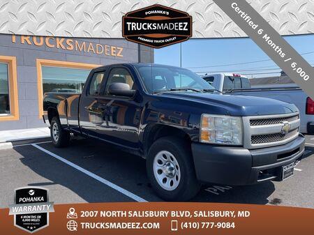2010_Chevrolet_Silverado 1500_Work Truck | 5.3L V8 | 4X4 | 8' LONG BOX_ Salisbury MD