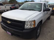 2010_Chevrolet_Silverado 1500_Work Truck Ext. Cab Long Box 4WD_ Austin TX