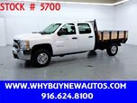 2010 Chevrolet Silverado 2500HD ~ Crew Cab ~ 8ft Stake Bed ~ Only 52K Miles!