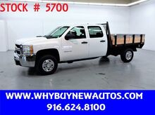 2010_Chevrolet_Silverado 2500HD_~ Crew Cab ~ 8ft Stake Bed ~ Only 52K Miles!_ Rocklin CA