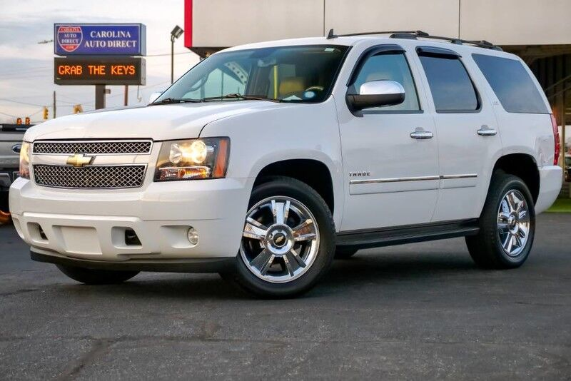 2010 Chevrolet Tahoe >> 2010 Chevrolet Tahoe Ltz 3rd Row Seating W Heated Front Vented Seats Heated 2