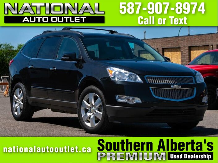 2010 Chevrolet Traverse LTZ -DVD - BACK UP CAMERA - DUEL SUN ROOF Lethbridge AB