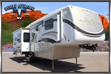 2010 DRV Mobile Suites 36RSSB3 Quad Slide 5th Wheel RV