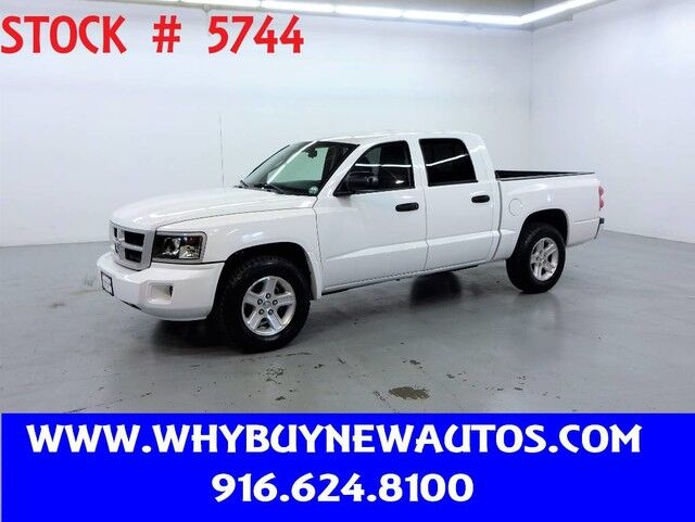 2010 Dodge Dakota ~ Crew Cab ~ Bighorn ~ Only 29K Miles! Rocklin CA