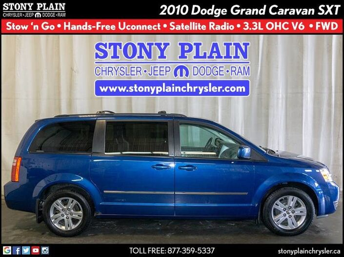 2010 Dodge Grand Caravan SXT Stony Plain AB
