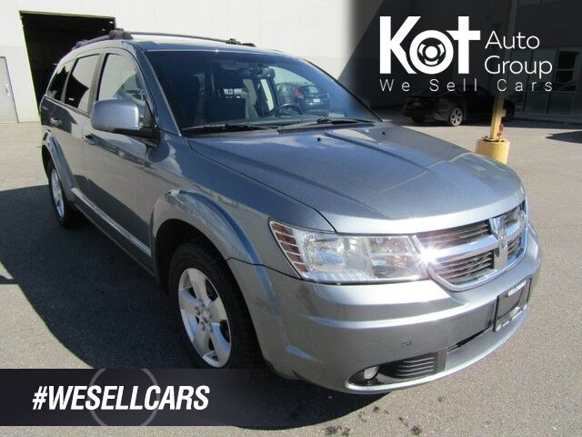 2010 Dodge JOURNEY SXT! 7 PASSANGER! TOW PACKAGE! ROOF RACK! GREAT FAMILY VEHICLE! ON SALE! Kelowna BC